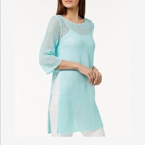 ‼️SOLD‼️New Eileen Fisher Organic Linen Tunic